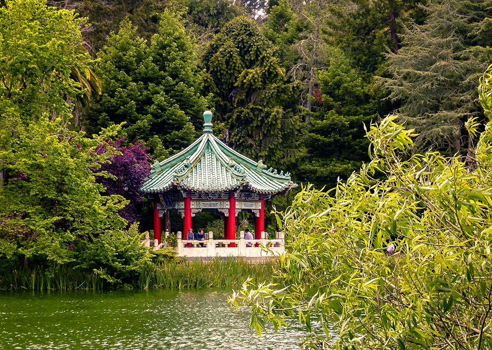 japanese garden on golden gate park san francisco
